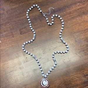 "Pearl ""C"" necklace"